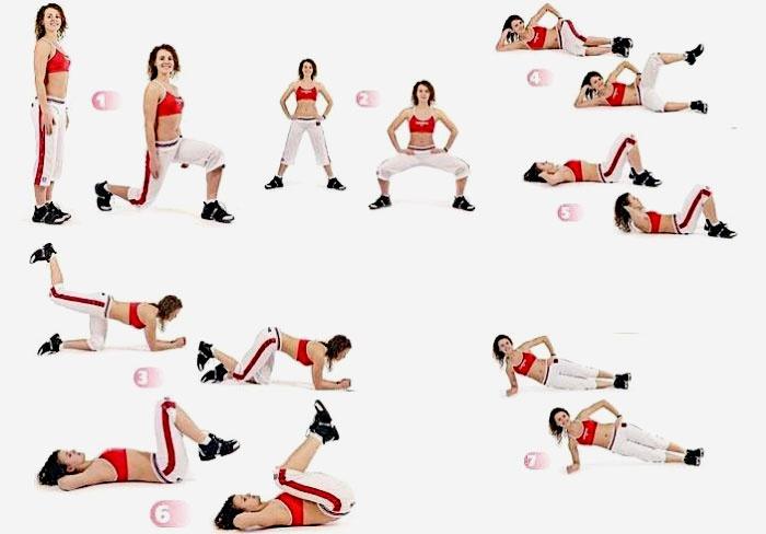 Похудение ног за неделю упражнения