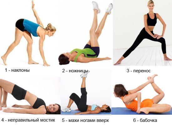 как похудеть в ногах внутренняя часть