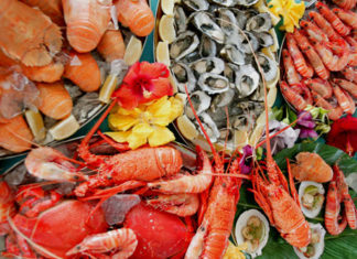 морепродукты виды