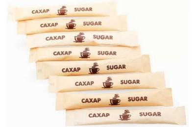 Сахар в пакетиках